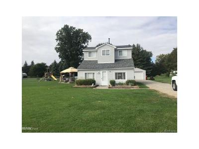 MACOMB Single Family Home For Sale: 46899 Heydenreich