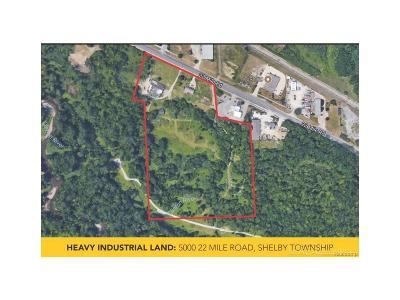 Shelby Twp Residential Lots & Land For Sale: 5000 22 Mile