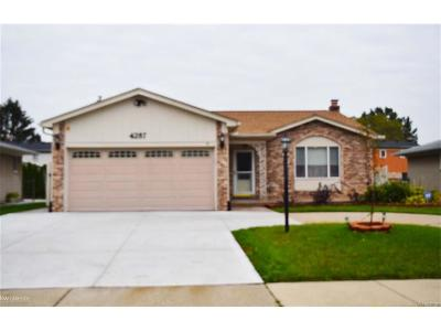 Sterling Heights Single Family Home For Sale: 4287 Fox Hill Drive