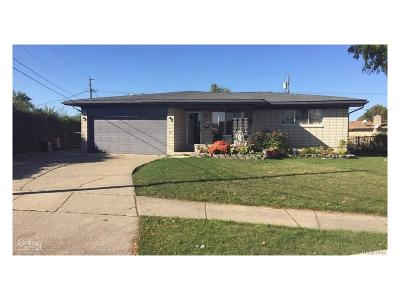 Sterling Heights Single Family Home For Sale: 3415 Chapel