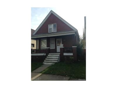 Hamtramck Single Family Home For Sale: 2652 Edwin