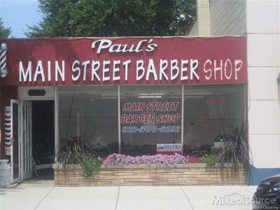 Macomb County Commercial For Sale: 23149 E Main St