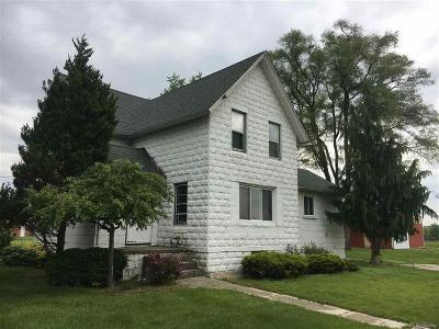 MACOMB Single Family Home For Sale: 51450 North Avenue