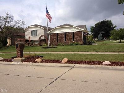 STERLING HEIGHTS Single Family Home For Sale: 36377 Melbourne