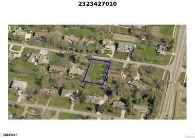 Farmington Hills Residential Lots & Land For Sale: 29597 Edgehill Ave