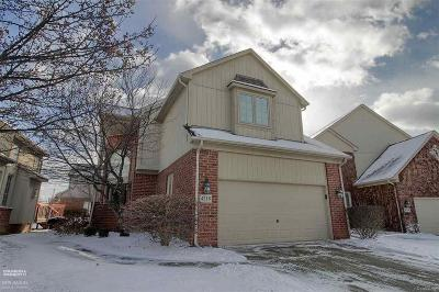 Shelby Twp Condo/Townhouse For Sale: 4218 Summer Place
