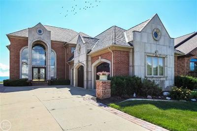Harrison Twp Single Family Home For Sale: 37560 Lakeshore Dr.