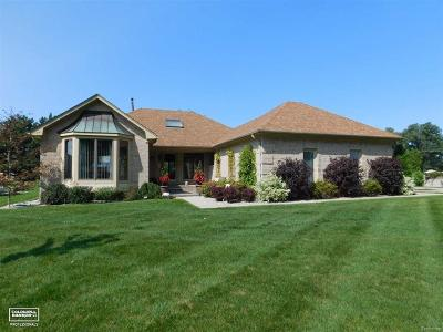 Chesterfield Twp Condo/Townhouse For Sale: 49937 Miller Ct.