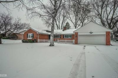 Rochester Hills Single Family Home For Sale: 92 Boyken