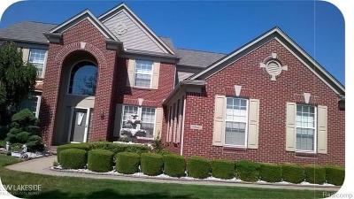 Sterling Heights, Shelby Twp, Utica Single Family Home For Sale: 34645 Fontana Dr