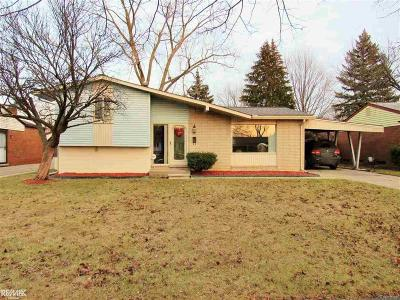 Sterling Heights Single Family Home For Sale: 38756 Littlefield Dr