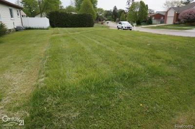 Clinton Twp Residential Lots & Land For Sale: Utica