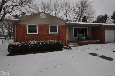 Shelby Twp Single Family Home For Sale: 6505 24 Mile