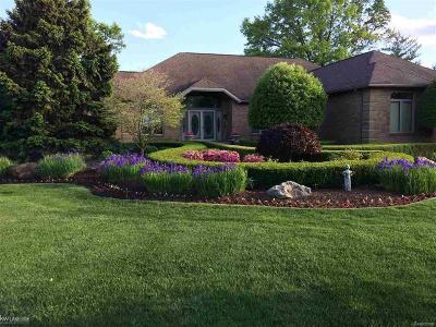 Washington Twp Single Family Home For Sale: 6718 Pond Drive