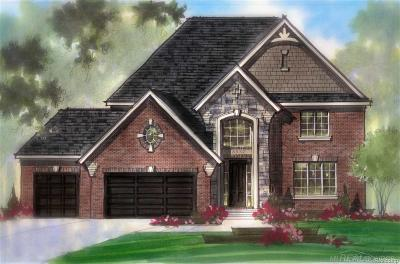 Harrison Twp Single Family Home For Sale: 39990 W Offshore Drive #Lot 113