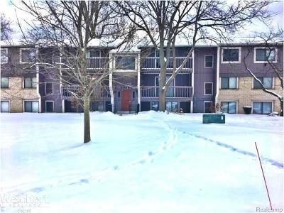 Farmington Hills Condo/Townhouse For Sale: 29880 W 12 Mile