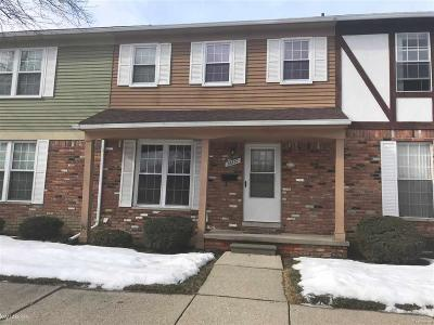 Sterling Heights Condo/Townhouse For Sale: 36737 Park Place Dr