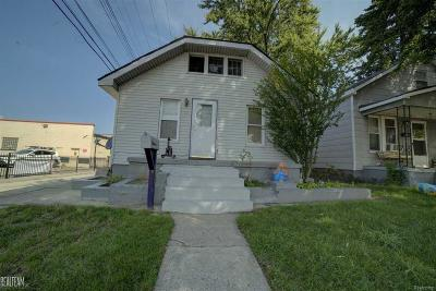 Hazel Park Single Family Home For Sale: 27 E Muir