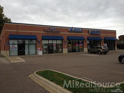 Commercial Lease For Lease: 33740 Schoenherr