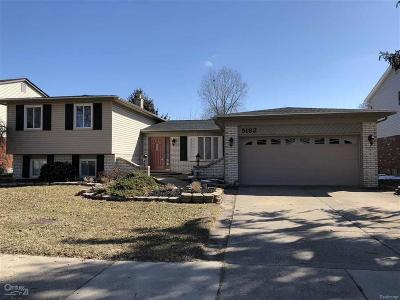 Troy Single Family Home For Sale: 5182 Hale Dr