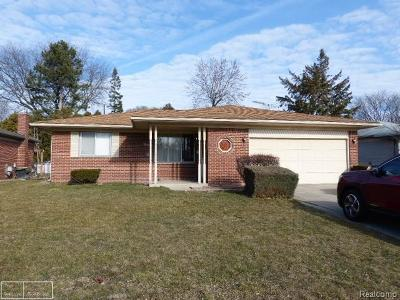 Sterling Heights Single Family Home For Sale: 38199 Beecher