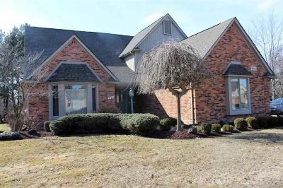 Macomb Twp Single Family Home For Sale: 54031 Paul Wood Dr