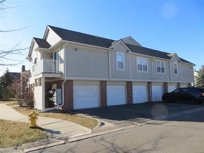 Clinton Twp Condo/Townhouse For Sale: 43427 Claremont