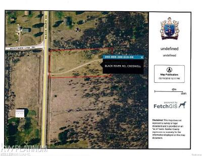 MI Residential Lots & Land For Sale: $23,000