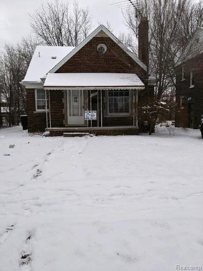 Detroit Single Family Home For Sale: 11852 Laing