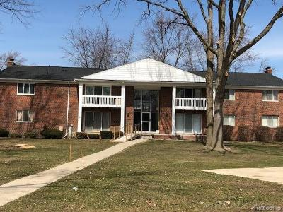 Clinton Twp Condo/Townhouse For Sale: 42424 Sheldon Pl #204