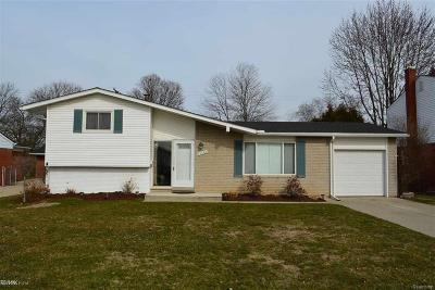 Shelby Twp, Utica, Sterling Heights Single Family Home For Sale: 38288 Tottenham