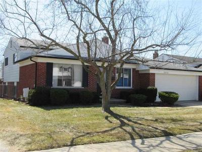 Troy Single Family Home For Sale: 2870 Saratoga