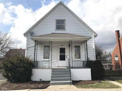 Hamtramck Single Family Home For Sale: 3827 Belmont