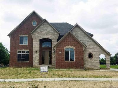 Macomb Twp Single Family Home For Sale: 16436 Via Mera