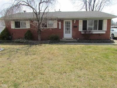 Shelby Twp, Utica, Sterling Heights Single Family Home For Sale: 12940 Takoma Dr