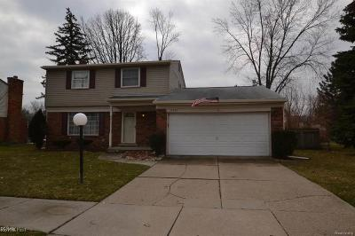 Clinton Twp Single Family Home For Sale: 23544 King
