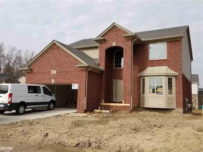 Macomb Twp Single Family Home For Sale: 48015 Wakefield
