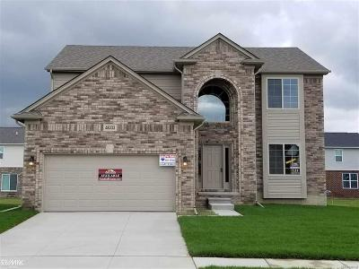 Macomb Twp Single Family Home For Sale: 48033 Wakefield