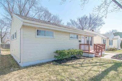 Ferndale, Royal Oak, Berkley Single Family Home For Sale: 3578 Greenfield
