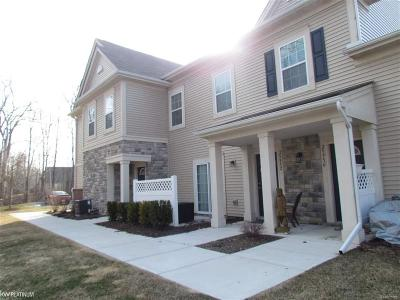 Harrison Twp Condo/Townhouse For Sale: 25948 Maritime