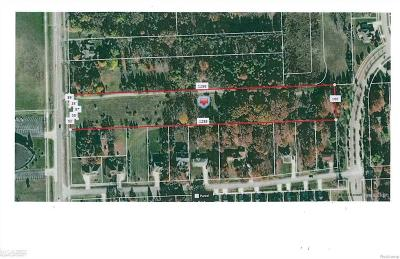 Rochester, Rochester Hills Residential Lots & Land For Sale: 3271 S Livernois