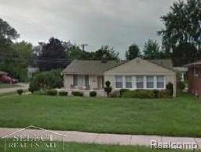 Farmington Hills, Farmington, Livonia, Redford Single Family Home For Sale: 9309 Appleton
