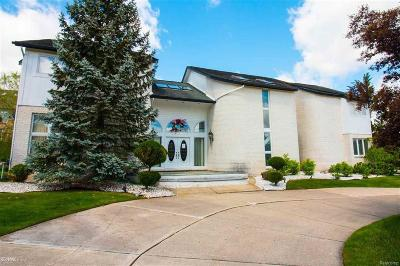 West Bloomfield Single Family Home For Sale: 5250 Marlwood