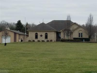 Ray Twp Single Family Home For Sale: 18360 28 Mile