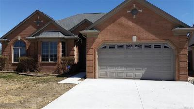 St Clair Shores, Roseville, Fraser, Harrison Twp Single Family Home For Sale: 34960 Eberlein
