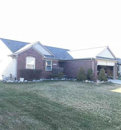 Chesterfield Twp Single Family Home For Sale: 32063 Oakcrest
