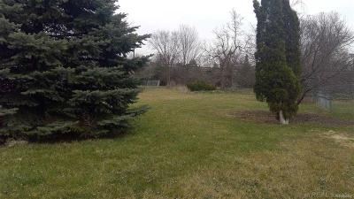 Rochester, Rochester Hills Residential Lots & Land For Sale: 3515 Crooks