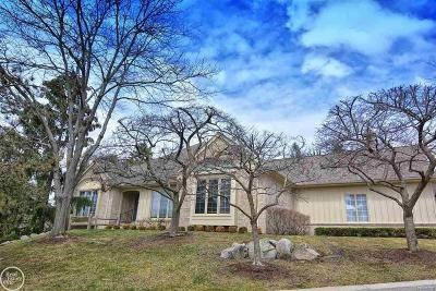 Bloomfield Hills Condo/Townhouse For Sale: 2420 Hickory Glen Dr