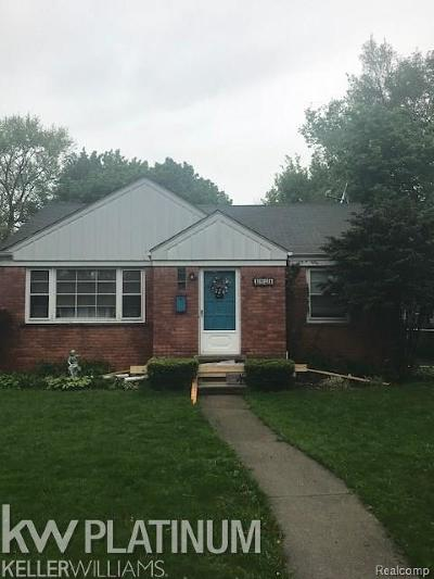 Dearborn Single Family Home For Sale: 1924 Edgewood