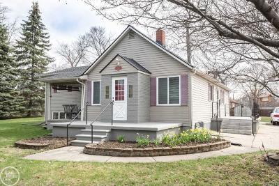 Rochester, Rochester Hills Single Family Home For Sale: 3119 S Adams